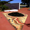 edith cowan university paving